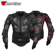 HEROBIKER Professional Motocross Off-Road Protector Motorcycle Full Body Armor Jacket Protective Gear Clothing S/M/L/XL/XXL/XXXL(China (Mainland))