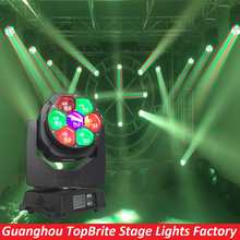 Buy 2016 Free High 7x15 RGBW 4IN1 Zoom Wash Beam LED Bee Eyes Moving Head Lights Stage Dj Disco Laser Light for $345.00 in AliExpress store