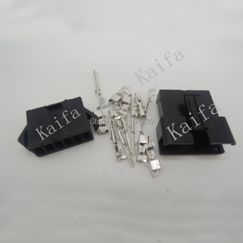 (100sets/lot)(connectors|SM) SM 6Pin Pitch 2.54MM Female and Male Housing + terminals SM-6P SM-6R JST 2.54MM SM2.54(China (Mainland))