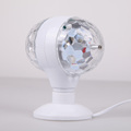 6W Double headed Colorful Light Rotating Lamp with US EU Plug for Party SGG