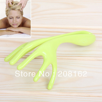 Manually Scalp Massager Handheld Scratcher Stick Six Claw Shape Head Massagers Health Care