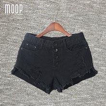Summer black white denim shorts jeans women crop tops tassel hot shorts pantalones cortos mujer bermuda feminina free ship LT468