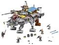 LEPIN 05032 Star Wars 1022 Pcs Captain Rex s AT TE Minifigures Building Blocks Brick Toy