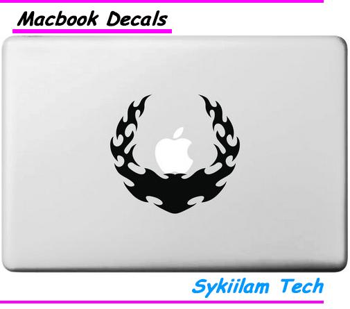 Symbol UN Apple Logo Vinyl Sticker Macbook Skin Air 11 13 Pro 13 15 17 Retina Laptop Computer Wall Creative Decal