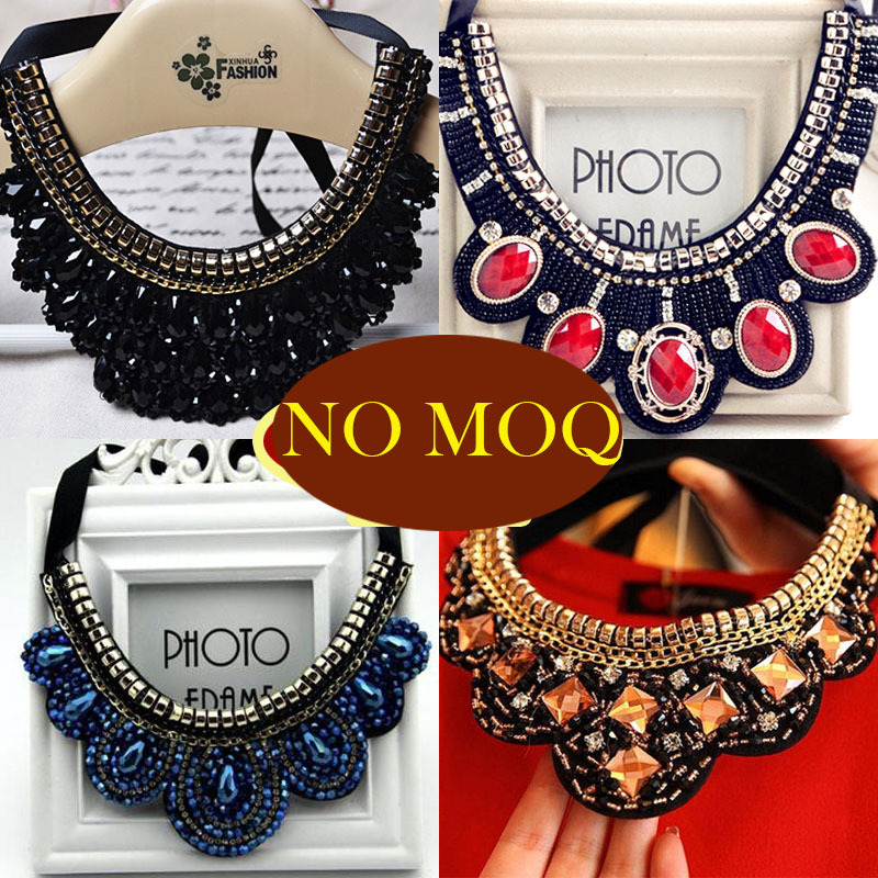 2015 new jewelry multi layer necklace gold necklace fine jewelry colar vintage collares brand wedding accessories african beads(China (Mainland))