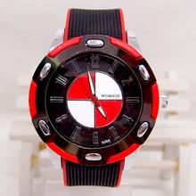 brand sport fashion quartz watch men women silicone jelly wristwatch 5L216