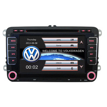7″ 2 Din Capacitive Touch Screen Car DVD Player GPS for VW JETTA GOLF MK5 MK6 GTI PASSAT B6 POLO SKODA Fabia