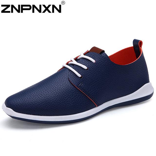 Мода квартиры мужчины формальный роскошный мужской обуви свободного покроя искусственная ...