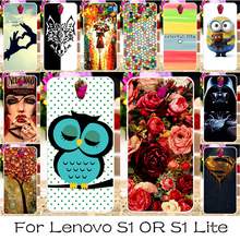 Buy DIY Soft Silicon Mobile Phone Cover Case Lenovo Vibe S1 S1C50 S1A40/Lenovo Vibe S1 Lite Lenovo S1La40 Back Covers Shell Hood for $1.28 in AliExpress store