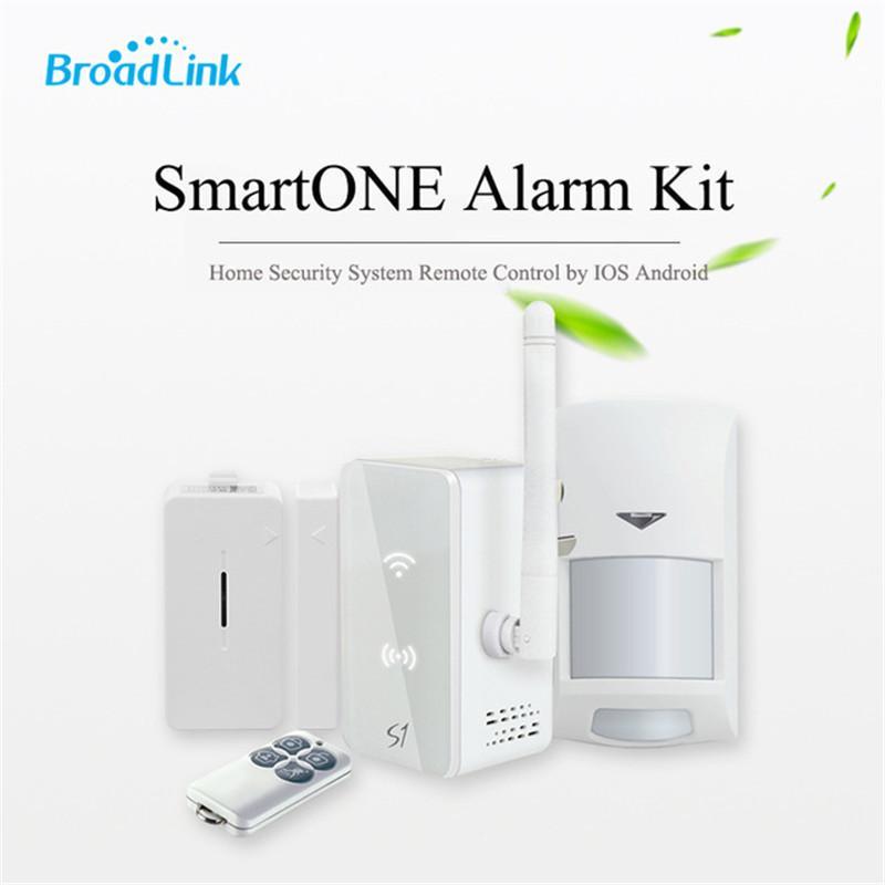 image for 2016New Arrival Broadlink S1c/S1 SmartOne Alarm&Security Kit For Smart