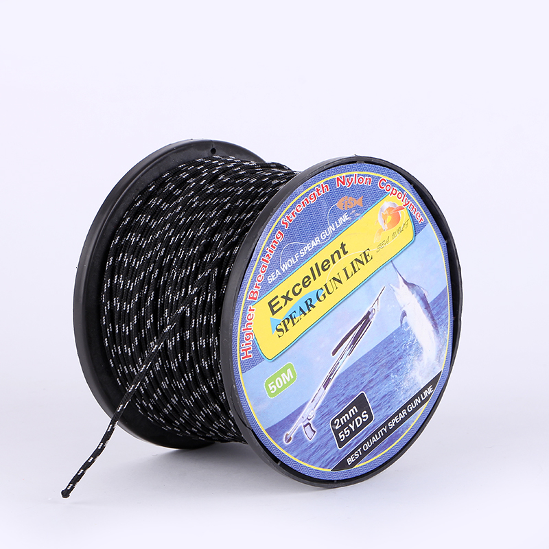 Гаджет  50M 2mm 55YDS Excellent Spear Gun Line PE Multifilament Braided Fishing Line Strand Carp Fishing Spearfishing Rope Cord Freeship None Спорт и развлечения