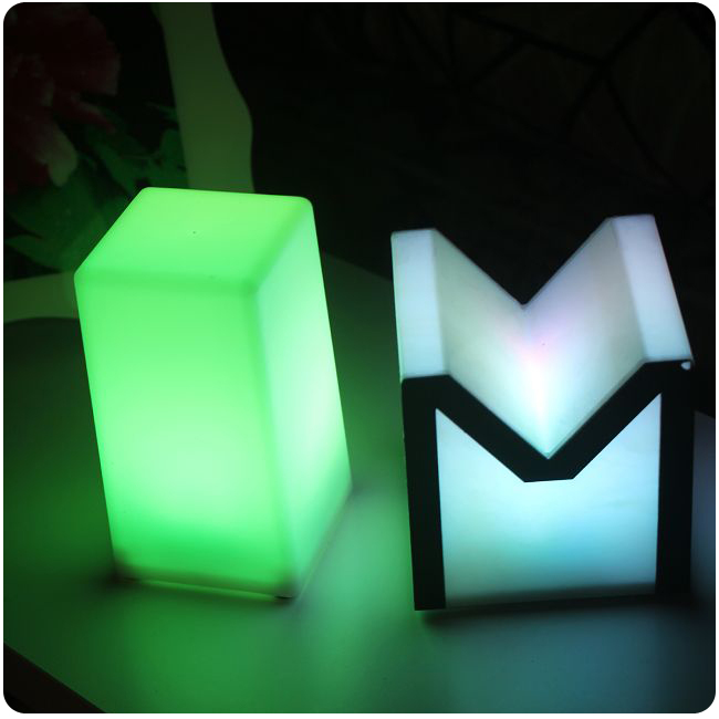 Night club outdoor decoration party LED cube LED bar table lamp light Lumineux Lampe design for bar furniture Free Shipping 4pcs<br><br>Aliexpress