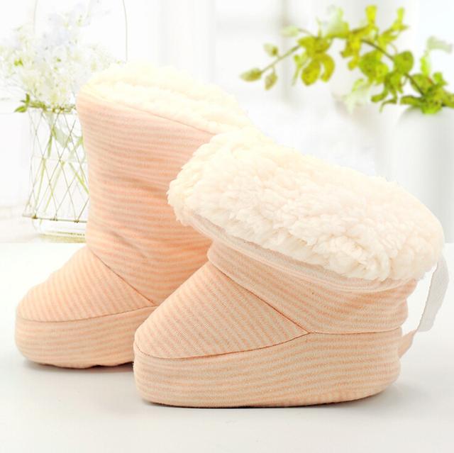 0 - 6 месяцев новорожденного грин бэй теплые зимние ботинки детская кроватка обувь ...