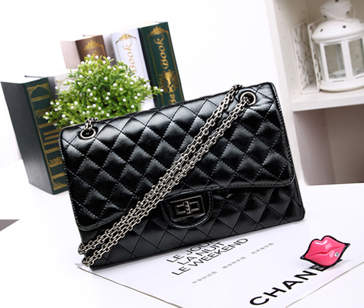 Single Shoulder Bag Lady Rhombic Cross Chain All-match Fashion Handbags - Flying Dreams Trade Mall store