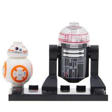 Star Wars Minifigures Single Sale R2D2 Leia Boba Fett Clone Trooper darth Vader Kylo Ren Figures Blocks Building Toys legoelieds(China (Mainland))