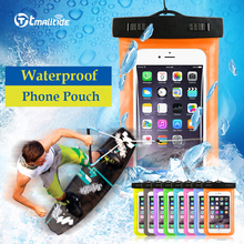 Buy Tmalltide Universal Phone Bags Pouch Strap Waterproof Cases Covers iPhone 6 5S 6S 7 Plus Case Cover for $1.39 in AliExpress store
