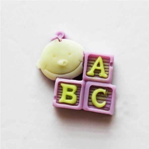 Caymandi ABC Baby Silicon Cake Mold(China (Mainland))