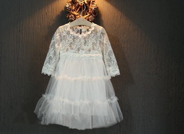 2016 Girls temperament  lace princess dress , costume kids , costumes for girls , 5pcs/lot   CB10<br><br>Aliexpress