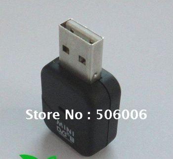 EMS/DHL Free Shipping! New Mini USB 2.0 DVB-T Digital Signal TV Stick Tuner DVB T Receiver ,10pcs/Lots Wholesale