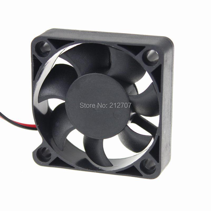 50pcs/lot Heatsink Cooling Fan DC 50mm 5015s 50 x 50 x 15mm 5cm 12V 2P(China (Mainland))