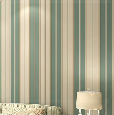 Boys bedroom wallpaper modern wallpaper pvc wallpaper stripe wall paper blue pvc wall covering 3d wall panels modern cellophane(China (Mainland))