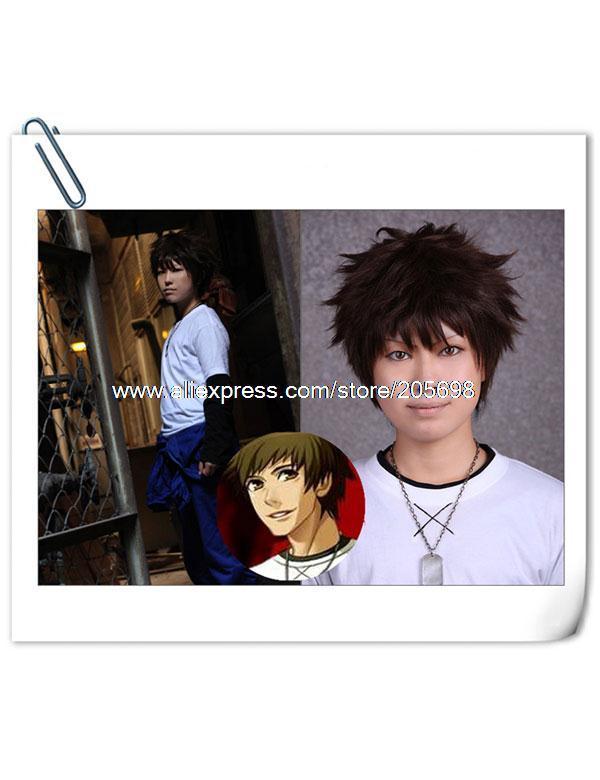 Гаджет  Togainu Keisuke High Quality Synthetic Cosplay wig anime halloween christmas Free Shipping None Изготовление под заказ