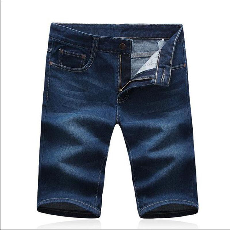 High Quality Jeans 2016 Summer Men's Demin Casual Shorts Knee-length Fashion Dot Loose Jean Shorts Men()