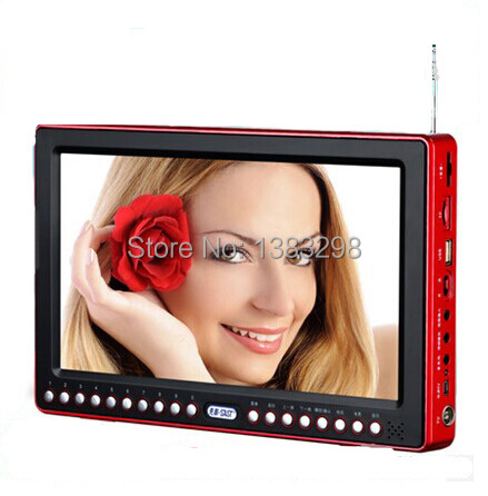 High quality 13inch Mini TV Radio E-book picture playback with Speaker and Earphone keyboard Lock/Sleep Function<br><br>Aliexpress