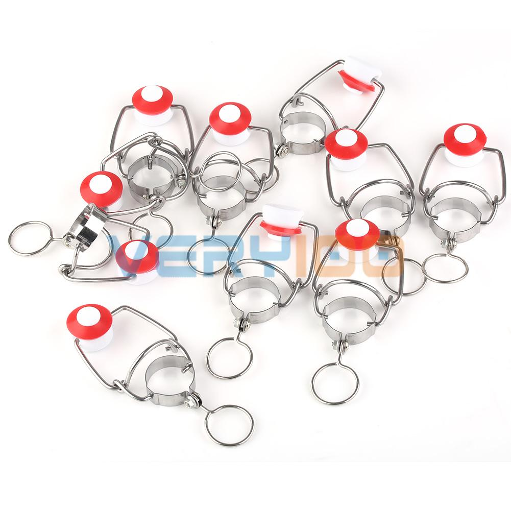 10pcs ABS Recyclable Ceramic Swaying/Swing Top Beer Bottle Cap - Home Brew(China (Mainland))