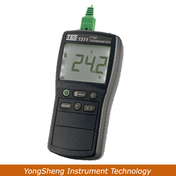 Digital Industrial K Type Thermocouple Thermometer Temperature TES-1311(China (Mainland))