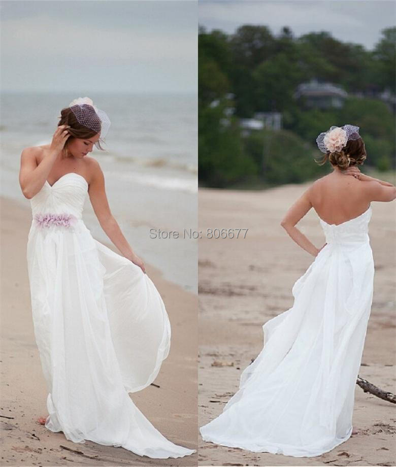 Beach Wedding Dresses In Purple : Gallery for gt purple and white beach wedding dresses