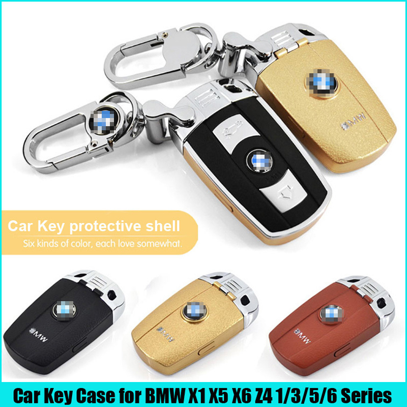 Free shipping 1set specific for BMW remote key shell case key protection case key ring chain for BMW X1/X5/X6/Z4 1/3/5/6 Series<br><br>Aliexpress