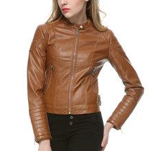 on Faux Leather Jacket