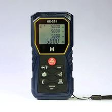 Distancia Tester de mano telémetro láser 60 m infrarrojos range finder directamente área ángulo instrumento de medición