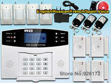 Buy Premium Smart Wireless Home GSM SMS Security GSM Alarm System LCD Screen English Russian Spanish French for $41.60 in AliExpress store
