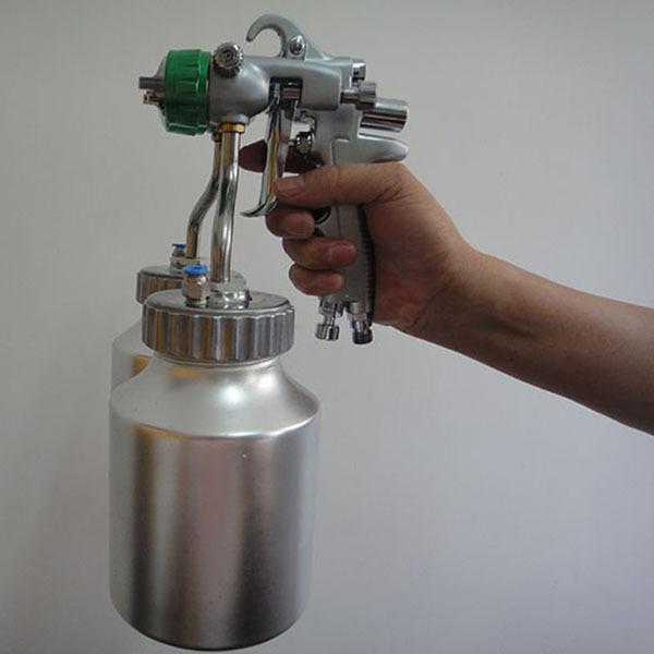 SAT1200 mirror chrome paint adjustable air pressure regulator professional airbrush sprayer<br><br>Aliexpress
