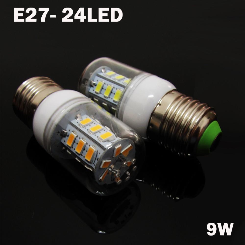 1Pcs E27 E14 5730 5630 SMD LED Corn Bulb AC 220V 9W 12W 15W18W High Luminous Spotlight LED lamp light
