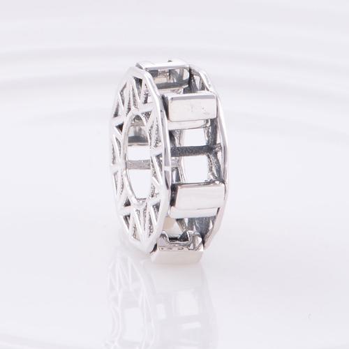 Аутентичные стерлингового серебра 925 бусины колесо обозрения европейский шарм женщины ювелирные изделия DIY подходит Chamilia браслет бесплатная доставка