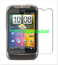 2x Clear Glossy LCD Screen Protector Guard Cover Film Shield For HTC Wildfire S G13 A510e PG76110