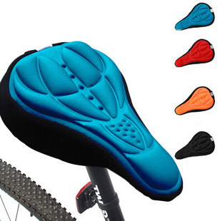 Fashion Bicycle Saddle of Bicycle Parts Cycling Seat Mat Comfortable Cushion Soft Seat Cover For Bike Seat Cushion Accessories(China (Mainland))