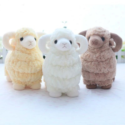 Baby soft toy stuffed animal sheep mutton goat 3 colors high quality good design(China (Mainland))