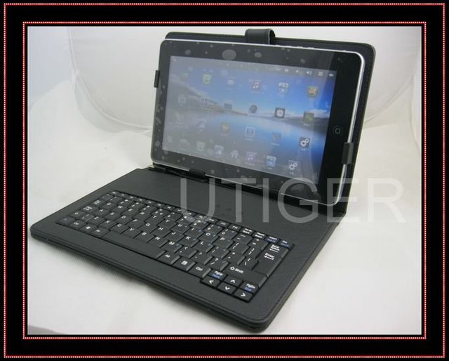 free shipping.10'' inch tablet pc Keyboard Flip Stand Case Cover USB Keyboard+touch pen