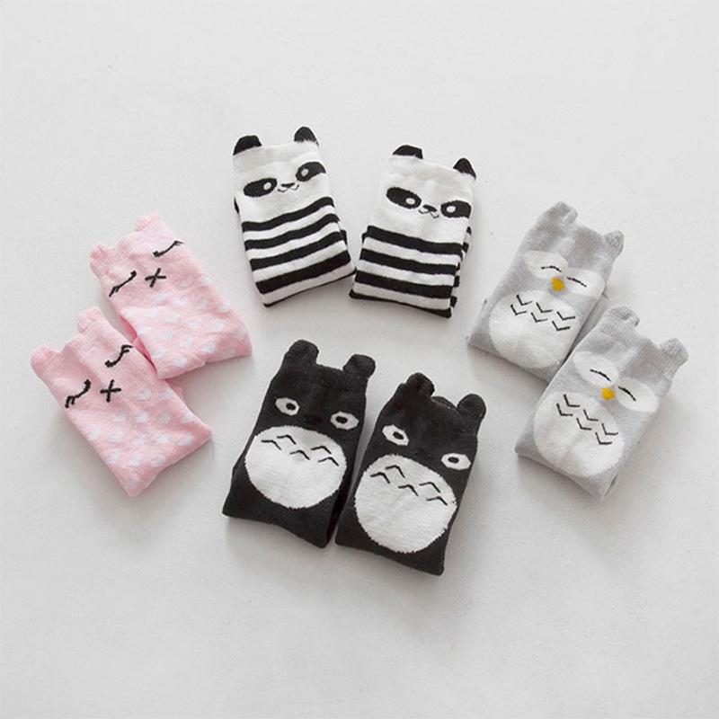 Unisex design knee high baby socks floor sock boys girls kids Children cute animal pattern cotton 13-204 - Kids' Happy store