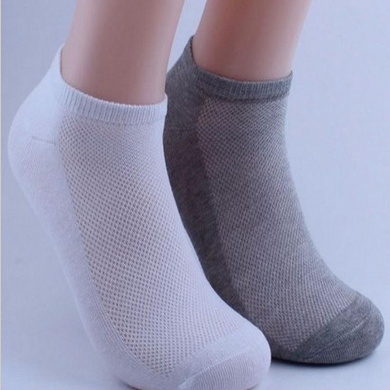1pair Men's Ankle Socks Soccer Summer Mesh Breathable Thin Boat Socks For Male Solid White Black Gray Colors 3d Men Sport Socks(China (Mainland))