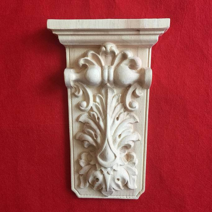 Wood carving column carved corbel wood sculpture fashion decoration woodbines carved(China (Mainland))