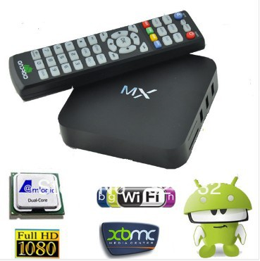 MX factory Sale ! New MX2 Android 4.2.2 Dual Core Smart TV Box XBMC Media Player Network Streamer(China (Mainland))