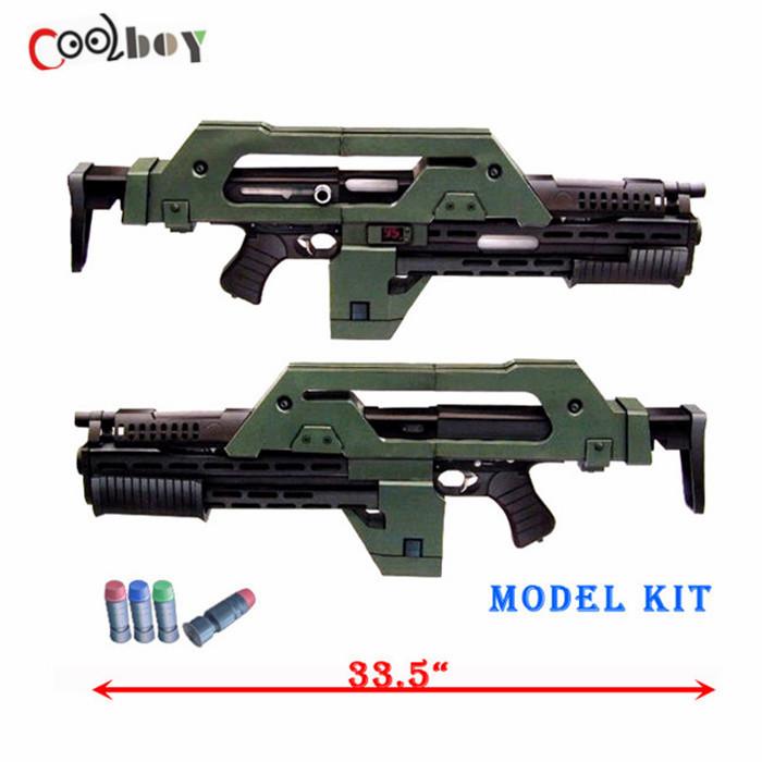 Cosplay Guns Diy Diy 1:1 3d Puzzle Paper Gun