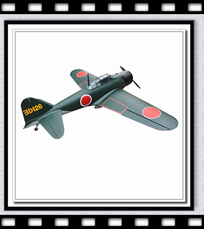 "Large 91"" Remote Control Model WWII Japan Zero Fighter 100cc Gasoline Engine RC Airplane Gas(China (Mainland))"