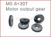 Buy 3PCS M0.6*30T gear motor shaft output gear Metal gear hobbing Diameter 18.8MM Thickness:3MM for $8.99 in AliExpress store