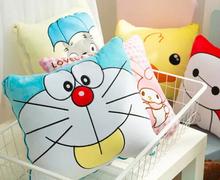 Plush blanket 1pc 150cm pudding dog Doraemon Melody Chibi Maruko chan air conditioning rest cushion stuffed toy creative gift